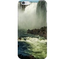 Down the Throat - Iguazu Gorge iPhone Case/Skin