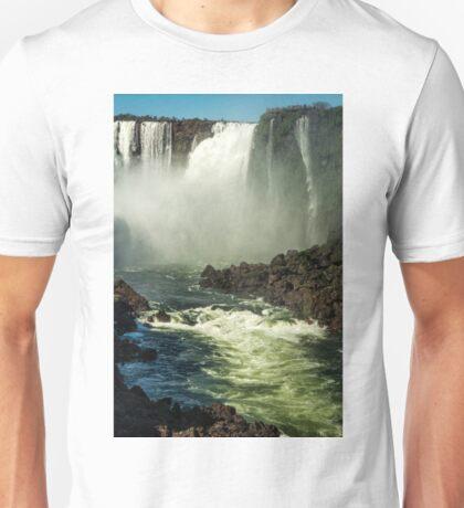 Down the Throat - Iguazu Gorge Unisex T-Shirt