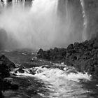 Down the Throat - Iguazu Gorge - in monochrome by photograham
