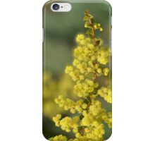 Blooming in yellow iPhone Case/Skin