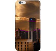 Sunrise downtown Detroit  iPhone Case/Skin