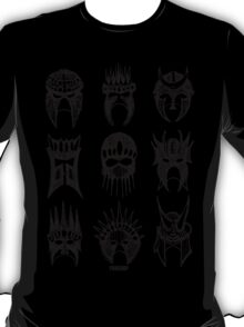 Masks Of Now T-Shirt