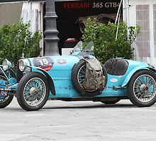 A beautiful car :BUGATTI Type 37 (1927) by annalisa bianchetti