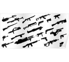 Fallout Guns Poster