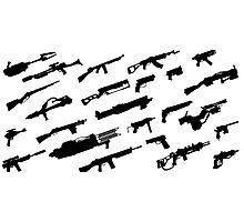Fallout Guns Photographic Print