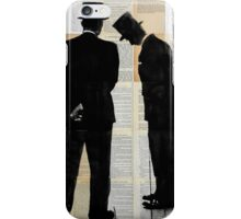 the conversation  iPhone Case/Skin