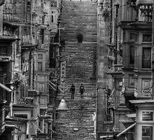 balcony street by stridersraven