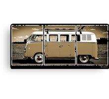 Volkswagen Kombi Classic © Canvas Print