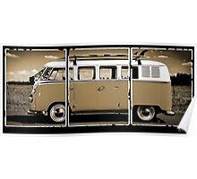 Volkswagen Kombi Classic © Poster