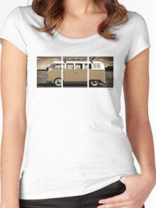 Volkswagen Kombi Classic © Women's Fitted Scoop T-Shirt