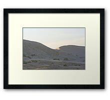 Kelso Dunes Framed Print