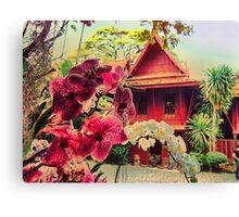 Jim Thompson's House, Bangkok, Thailand Canvas Print