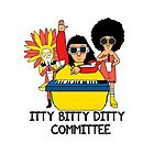 Itty Bitty Ditty Committee by restlessbear