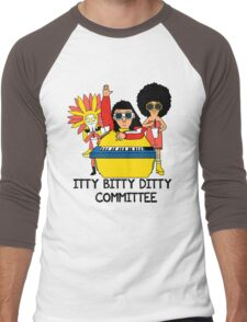 Itty Bitty Ditty Committee Men's Baseball ¾ T-Shirt