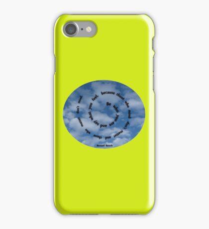 Be who you are ...quote iPhone Case/Skin