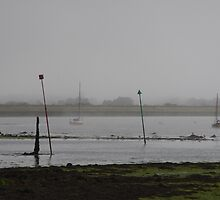 Emsworth On A Misty Afternoon by lezvee