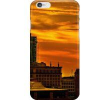 Golden Detroit sunrise iPhone Case/Skin