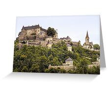 Burg Hochosterwitz Greeting Card