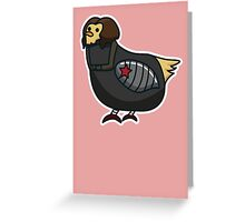 Buck Buck Bucky Greeting Card