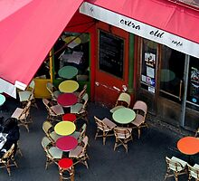 """""""Extra Old"""" Café - Paris (version 2015) by Eric Tchijakoff"""