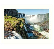 Around the Throat - Iguazu Falls Art Print