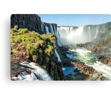 Around the Throat - Iguazu Falls Canvas Print