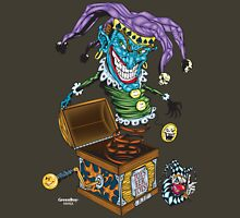 Evil Clown T Shirt Jack in the Box I Unisex T-Shirt