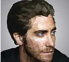 Jake Gyllenhaal: Low-Poly by Julian Fortune