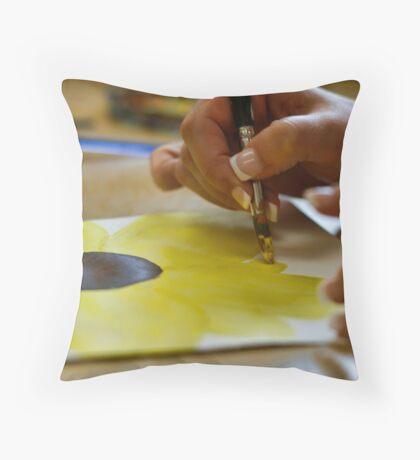 Brushed 2 Throw Pillow