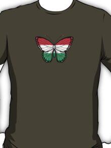 Hungarian Flag Butterfly T-Shirt