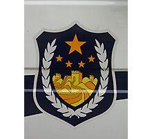 Police Car Photographic Print