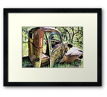 Rust Never Sleeps 6 Framed Print