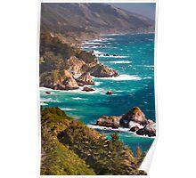 Big Sur California Central Coast Poster