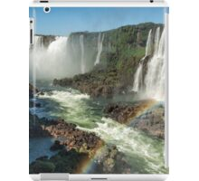 Rainbow over the River iPad Case/Skin