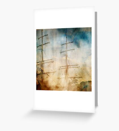 voyages Greeting Card