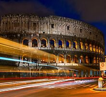 The Colosseum in Rome, Italy by Yen Baet