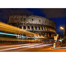 The Colosseum in Rome, Italy Photographic Print