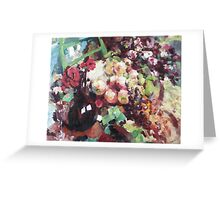 Korovin Wine and fruit in 1916 (author's copy) Greeting Card