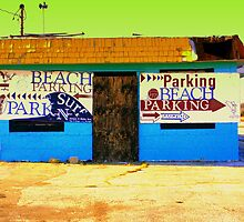 Beach Parking by rtographsbyrolf
