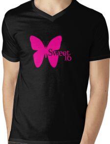 Sweet 16 Mens V-Neck T-Shirt