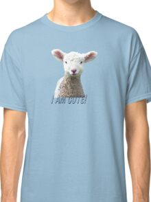 I am Cute - Kids T-Shirt - Lamb - NZ - Southland Classic T-Shirt