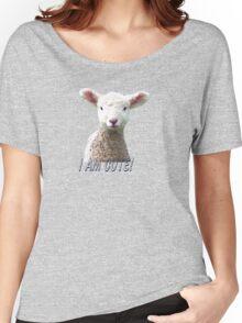 I am Cute - Kids T-Shirt - Lamb - NZ - Southland Women's Relaxed Fit T-Shirt