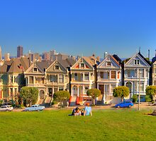 "San Francisco ""Painted Ladies"" by Paul J. Owen"