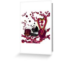 Don't touch Me Candy  Greeting Card