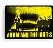 Adam and the Ants Canvas Print
