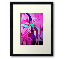 The Chase 2.0 Framed Print