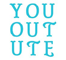 You Out Ute – Three by alannarwhitney