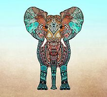BOHO SUMMER ELEPHANT by Monika Strigel