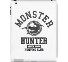 Monster Hunter - Hunting Club (dark effect) iPad Case/Skin