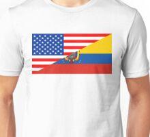 usa ecuador Unisex T-Shirt
